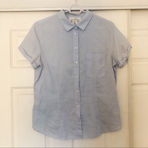 H&M Cotton button down blouse